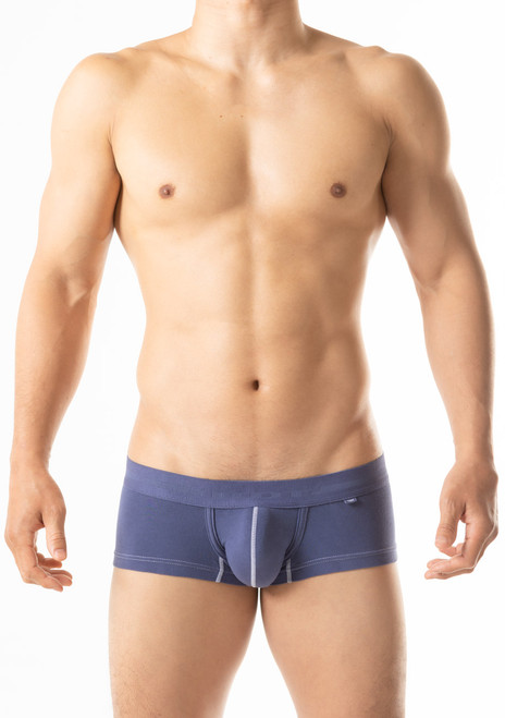 TOOT Underwear Piece Dyed Cotton Nano Trunk Navy (NB08K249-Navy)