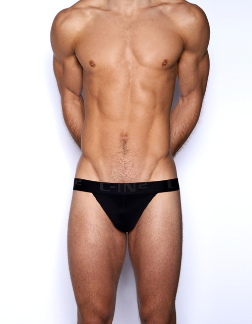 C-IN2 Underwear Core Y-Back Thong Black