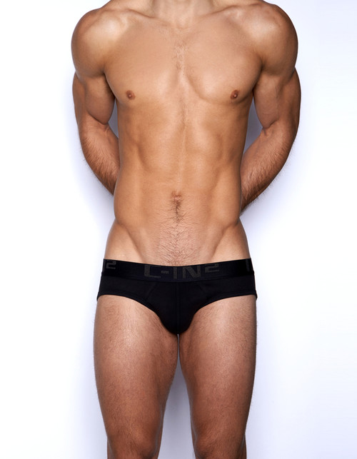 C-IN2 Underwear Core Lo No Show Profile Brief Black