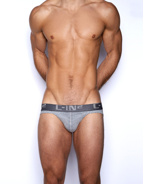 C-IN2 Underwear Core Sport Brief Grey Heather