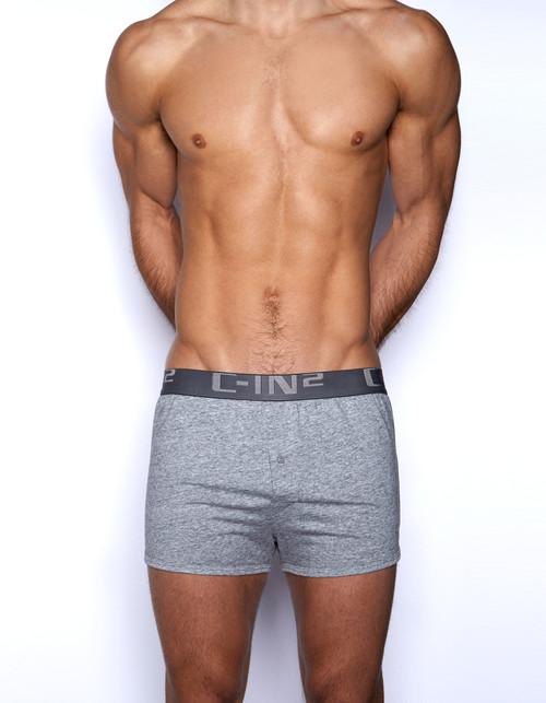 C-IN2 Underwear Core Runner Boxer Grey Heather