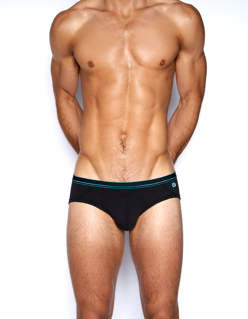 C-IN2 Underwear - Grip Lite Profile Brief Black
