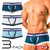 GX3 Underwear IVY LEAGUE 3-Pack Basic Trunk