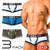 GX3 Underwear IVY LEAGUE 3-Pack College Trunk (K841)