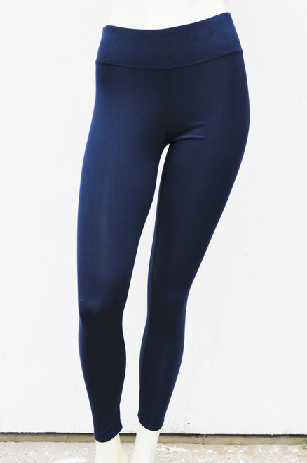 Regular Bamboo Legging - Navy