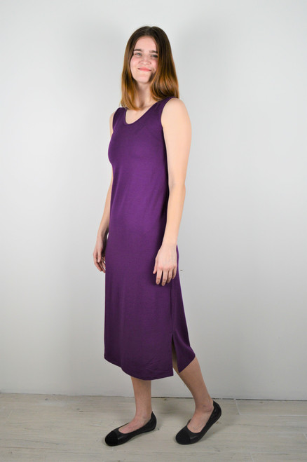 Patio Dress - Glorious Grape