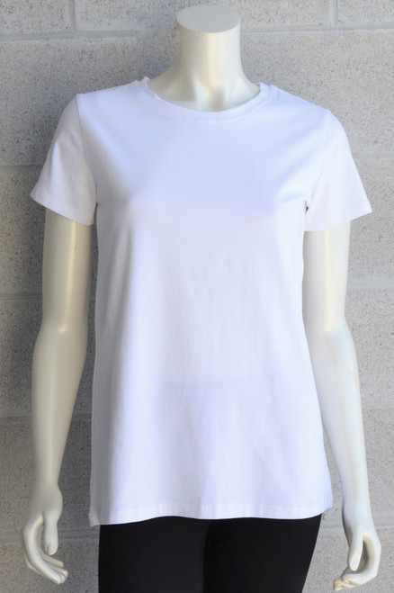 Short Sleeve Top - White