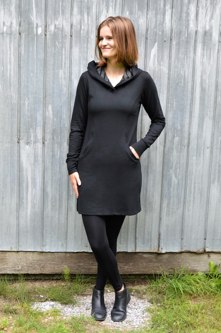 Jasper Sweater Dress - Black