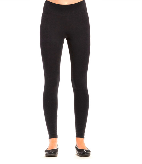 Regular Bamboo Legging - Black