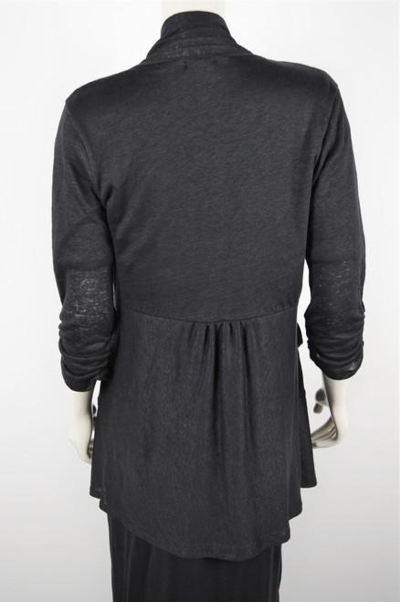 May Bloom Short Cardigan - Black