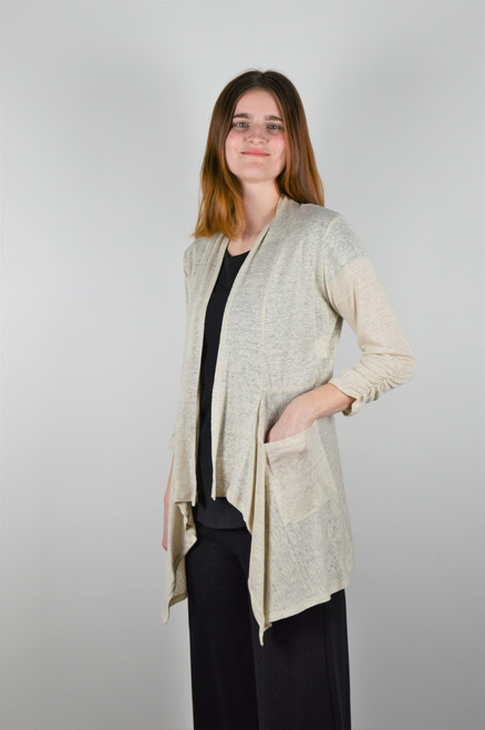 Maybloom Short Cardigan - Natural
