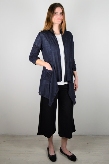 Maybloom Short Cardigan - Navy