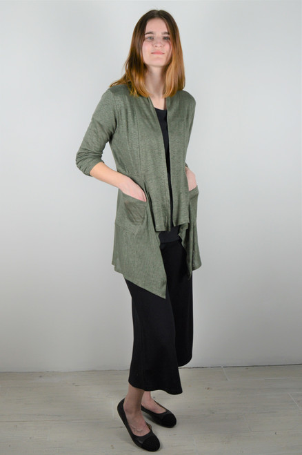 Maybloom Short Cardigan - Olive