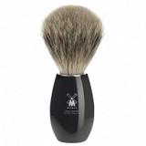 Muhle Shaving fine badger brush Modern K856 Black