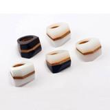 MABEL - Facet Rings - Black, Black & White or White