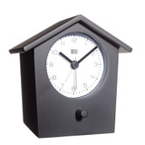 KooKoo EarlyBird Alarm Clock - Black | the design gift shop