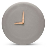 MENSCH MADE concrete wall clock large (Ø 27 cm)