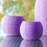 Candle Caves Lavender (set of three)   The Design Gift Shop
