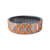 Ottoman Pop Lock Orange bracelet by Banded - Berlin | The Design Gift Shop