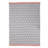 Fouta Towel 'Uhaina Chillida Bleu' by Jean-Vier | The Design Gift Shop