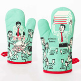 Pizza's Here - One Oven Mitt by Blue Q | The Design Gift Shop