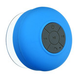 Blue Water Resistant Bluetooth Shower Speaker by ISgift | The Design Gift Shop