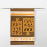 Kitchen Towel 'Arnaga Pintxos' by Jean-Vier | The Design Gift Shop