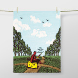 'Hey, Have You Tried Cheese?' Dish Towel by Blue Q    The Design Gift Shop