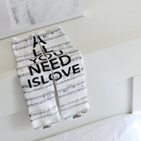 ALL YOU NEED IS LOVE socks by Art N Wordz | the design gift shop