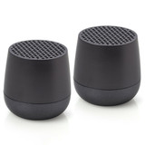 LEXON Mino Speaker Twin Set LA113MX Gunmetal | The Design Gift Shop