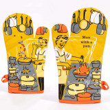 Man With A Pan - One Oven Mitt by Blue Q | The Design Gift Shop