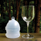 Collapsible Outdoor Wine Glass Al Fresco With Case | the design gift shopp