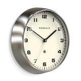 Newgate Chrysler Wall Clock Burnished Steel | the design gift shop