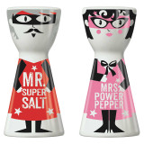 RITZENHOFF Salt & Pepper Shaker Mr. Salt & Mrs. Pepper  | the design gift shop