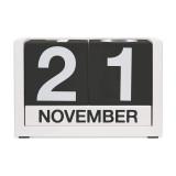DESIGN IDEAS ThreeSixFive Perpetual Calendar Black | the design gift shop
