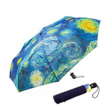 MoMa Starry Night Umbrella Collapsible | the design gift shop