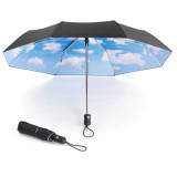 MoMa Sky Umbrella Collapsible | the design gift shop