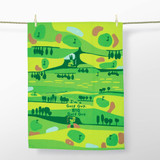 'I'm a Golf Guy, Big Golf Guy' Dish Towel by Blue Q  | The Design Gift Shop