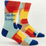 Blue Q Men's Socks 'Cool-Ass Grandpa' | the design gift shop