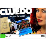 CLUEDO REINVENTION Discover the Sectrets, Boardgame