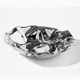 ALESSI - Polished Stainless Steel Round Basket SARRIA