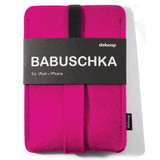 dekoop Babuschka - Pink felt Phone Case