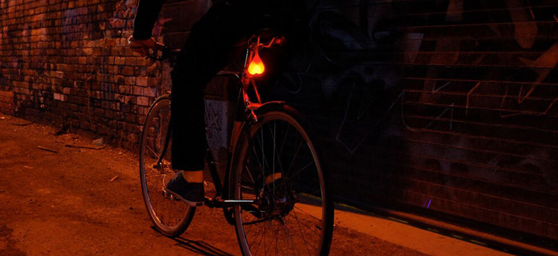Bike Balls Rear Bicycle Lights