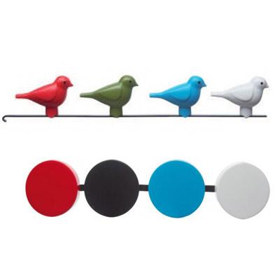 Exchangable cuckoo and pendulum for KooKoo BirdHouse cuckoo clock - white | the design gift shop