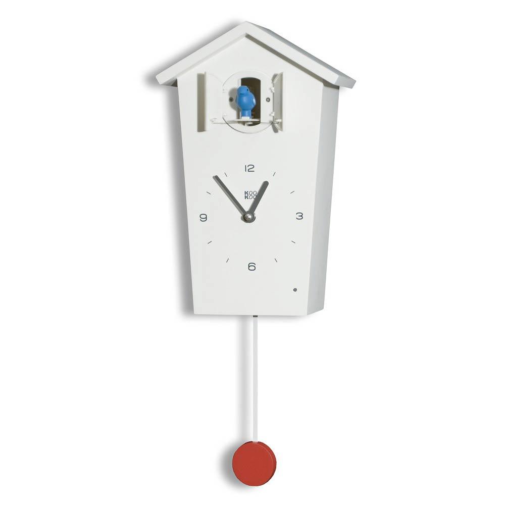 KooKoo BirdHouse cuckoo clock - white | the design gift shop