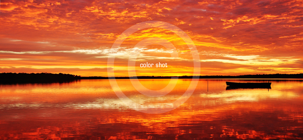 Color Shot - Early Morning at Lake Cooroibah