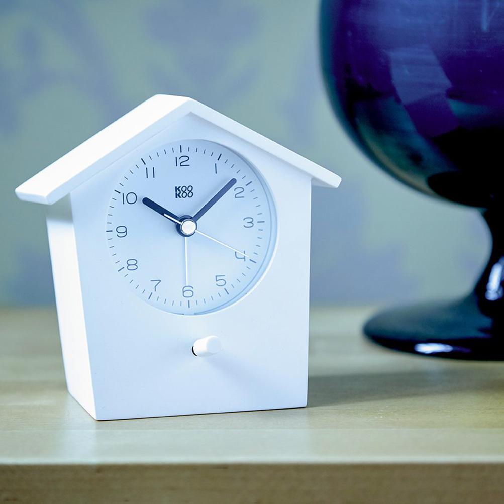 Alarm Clock  EarlyBird White | The Design Gift Shop