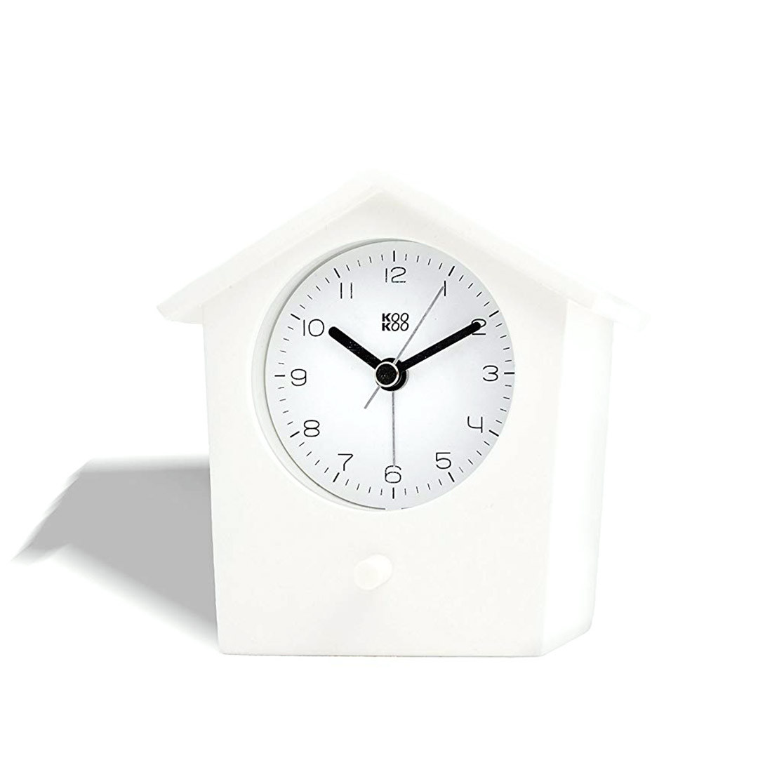 Alarm Clock  Early Bird White | The Design Gift Shop