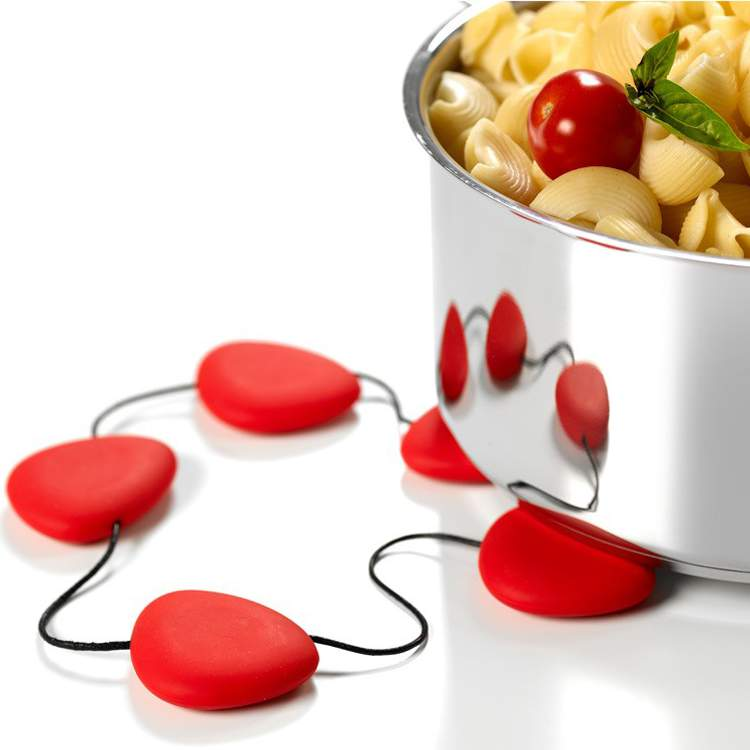 Lib - Silicone Trivet 'Hot' - red