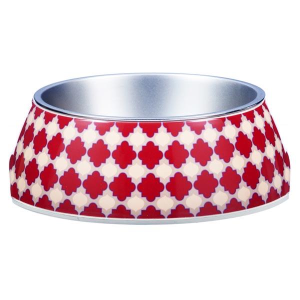 Red dog bowl Marrakesh